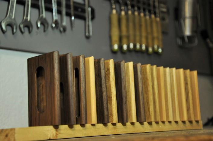 woodlink visitekaartjes houder portemonnee cardholder hout wood gift cadeau mannen handmade