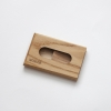 Woodlink eiken houten portemonnee handgemaakt in nederland van duurzaam hout