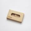 Woodlink essen houten portemonnee handgemaakt in nederland van duurzaam hout
