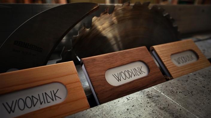 woodlink visitekaartjes houder portemonnee cardholder hout wood gift cadeau mannen collection