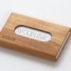 woodlink visitekaartjeshouder pasjeshouder houten portemonnee card holder duurzaam cadeau voor hem whitebeam meelbes