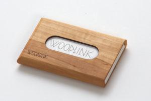 woodlink visitekaartjeshouders pasjeshouders houten portemonnee card holder duurzaam cadeau voor hem whitebeam meelbes