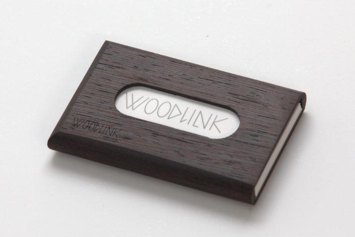 woodlink visitekaartjeshouders pasjeshouders houten portemonnee card holder duurzaam cadeau voor hem wenge