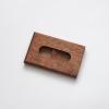woodlink mahonie houten portemonnee handgemaakt in nederland van duurzaam hout