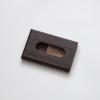 woodlink wenge houten portemonnee handgemaakt in nederland van duurzaam hout