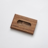 woodlink zebrano houten portemonnee handgemaakt in nederland van duurzaam hout
