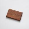woodlink mahonie houten portemonnee vegan pasjeshouder