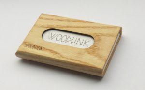 woodlink visitekaartjeshouders pasjeshouders houten portemonnee card holder duurzaam cadeau voor hem ash essen