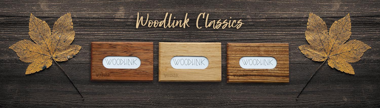 woodlink visitekaartjeshouders pasjeshouders houten portemonnee duurzaam cadeau voor hem card holder relatiegeschenken met logo