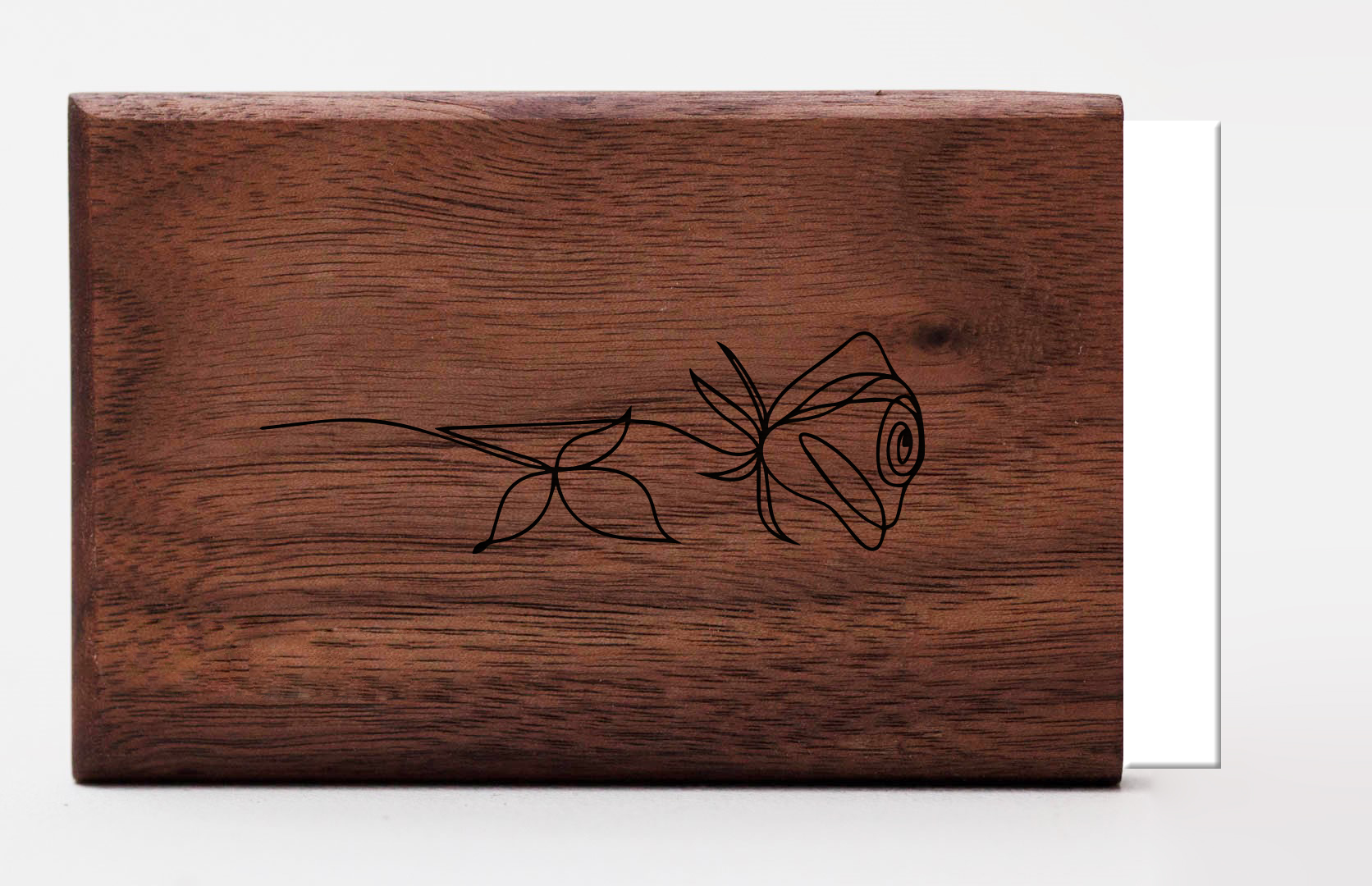 logo graveren woodlink hout personaliseren