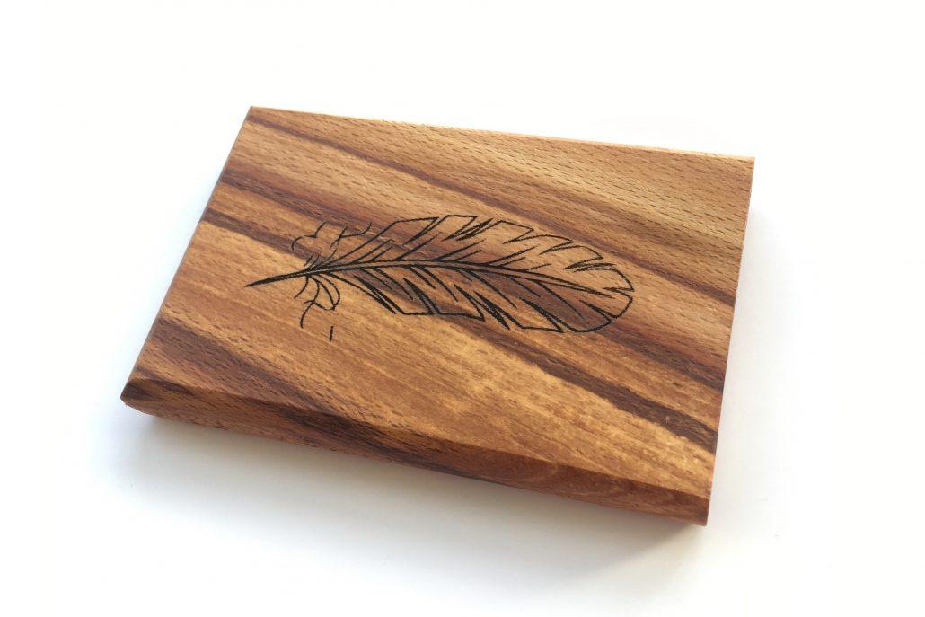 woodlink visitekaartjeshouder portemonnee cardholder hout wood gift cadeau mannen producten van duurzaam hout