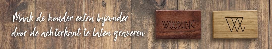 banner maatwerk customize graveren engraving producten van duurzaam hout