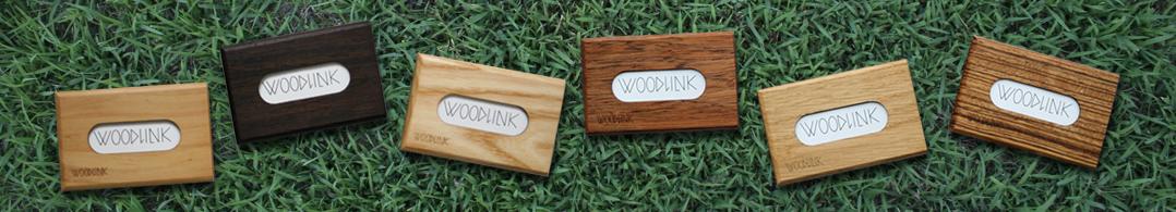 visitekaartjeshouder card holders pasjeshouders woodlink houten portemonnee duurzaam cadeau voor hem