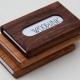 Koop hier een houten portemonnee van Woodlink