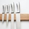 houten messenplank magneet wooden magnetic knife board eiken