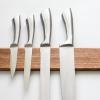 houten messenplank magneet wooden magnetic knife board zebrano