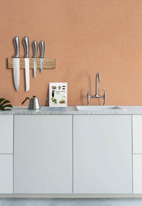 woodlink magnetische messenplank keuken duurzame houten keukenartikelen